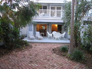 Key West townhome photo - Patio and Garden Area