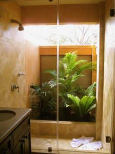 Two Private Garden Showers... One for Each Bedroom.