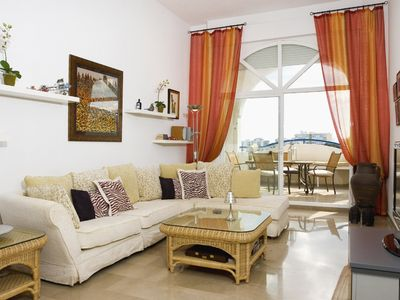 Benalmadena apartment rental - Living area