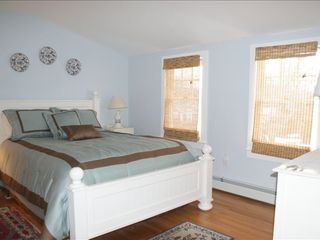 Hyannis - Hyannisport house photo - Master Bedroom #2: large & lovely, with TV
