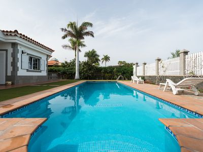 Vacation in itself! In family home with pool near the beach of Maspalomas