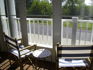 Wells townhome photo - Patio Overlooks the Marsh