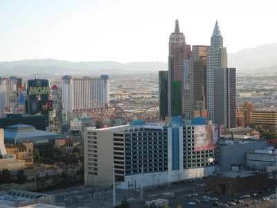 South Strip View from balconies