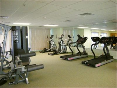 On-Site Fitness Room along with a Sauna