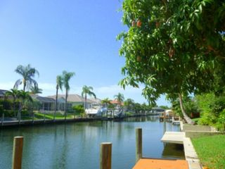Cape Coral house photo - Direct access canal with your own private mango tree