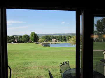 Galena Vacation Rental Condo - Great view from the patio