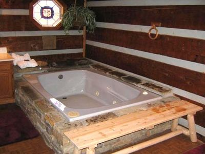 Downstairs, Jacuzzi