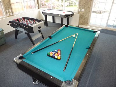 Yes, play a game of billards / pool on your own Private Table!