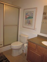 South Bethany Beach house photo - A bathroom with shower.