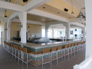 Galveston house photo - open air bar at the Beach Club - CLOSED but may be open by Memorial Day weekend