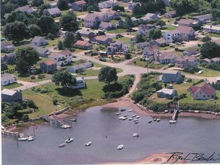 Great Island cottage photo - Aerial View ... waterfront - left center