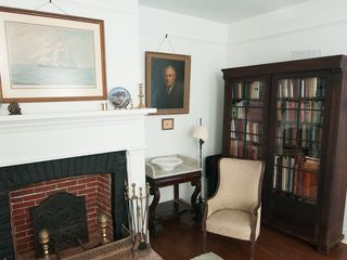 Cambridge house photo - Sen. George L. Radcliffe Parlor and Bedroom