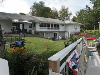 Cooperstown apartment photo - Dockside- fishing & swimming, yea !