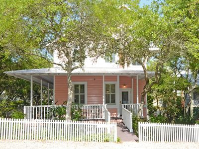 Front Exterior | Persimmon | Cottage Rental Agency | Seaside, FL