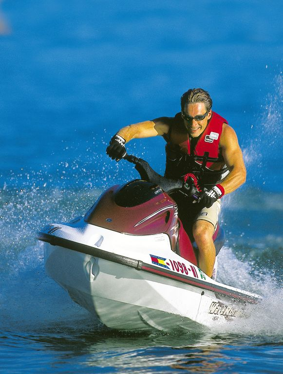Jetski. Photo courtesy Branson Chamber of Commerce.