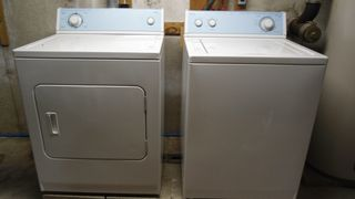 Orleans house photo - Washing Machine and Dryer for your convenience.
