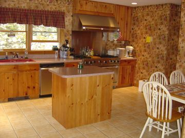Bar Harbor house rental - Kitchen - table for four