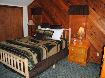 Upstairs bedroom #2 in the lodge.