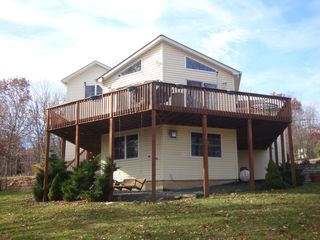 Bushkill house photo - Wraparound Deck