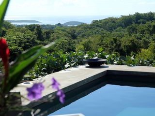 Vieques Island villa photo - Caribbean from pool