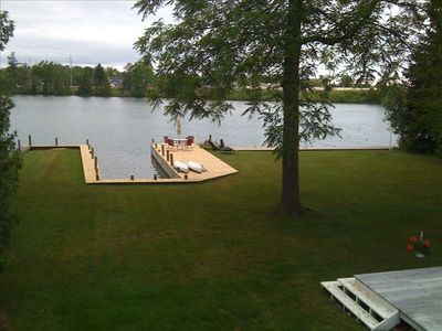 Boat Slip and swim deck