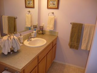 Oak Harbor house photo - Two bathrooms. Basic soaps & towels provided.