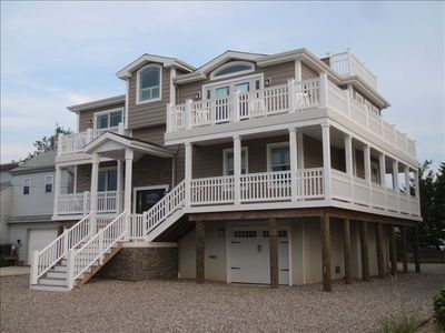 Exterior...multiple decks on all upper floors!!