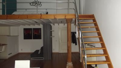 Luxurious cozy loft in the heart of Antwerp, newly furnished, in quiet building