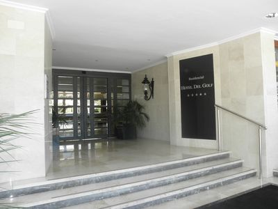Nueva Andalucia apartment rental - Residencial main entrance