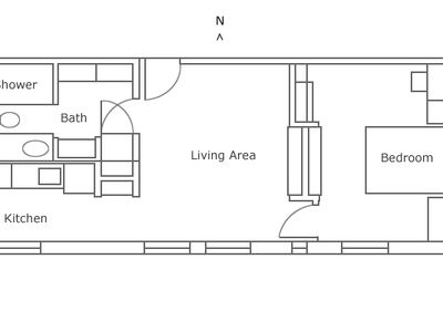 Floor plan for Suite 301