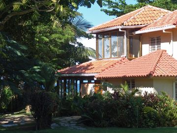 casa maravilla view in large tropical garden 30000 sqft property natural setting