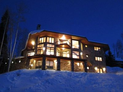 Unique Mountainside Luxury Home with Ski In Ski Out  Access