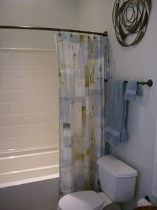 Master Bath - separate shower/tub area