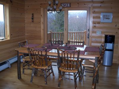 Belleayre Mountain cabin rental - Dining Area Seats 6-8