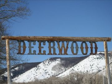 Deerwood. Looking west at the Snowy Range Mountains. Fantastic views everywhere!