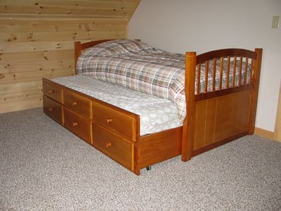 Bedroom 3 - showing trundle bed