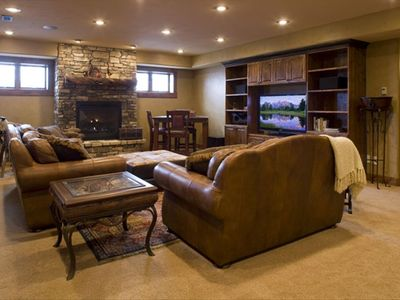 Driggs house rental - Family Room