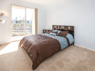 San Diego condo rental - Guest Bedroom with Attached Balcony