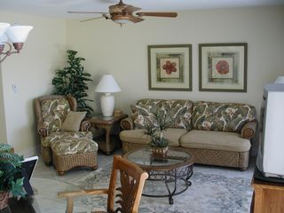 Living Room - Siesta Key condo vacation rental photo