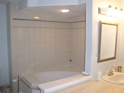 Very Large Walk-in Shower in master bath!