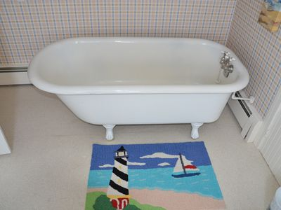 2nd Floor Full Bath with Original Claw Foot Tub.