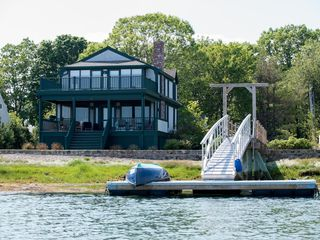 Kennebunkport cottage photo - Cottage as seen from the water