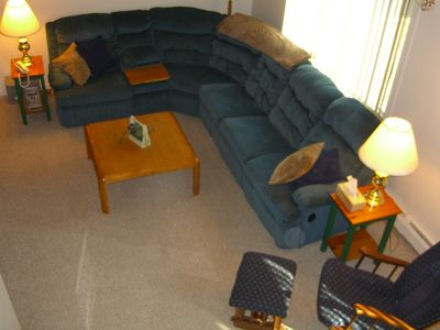 Family Room- Large Sectional