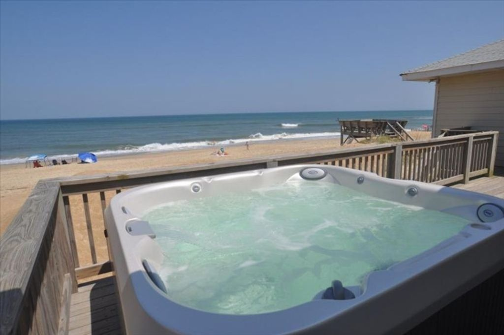 Oceanfront Hot Tub Oceanside 4 Bedroom 2 Vrbo