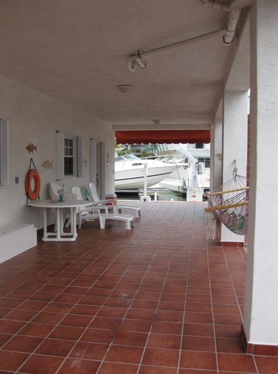 Islamorada/Tavernier Rental - Downstair's Terrace