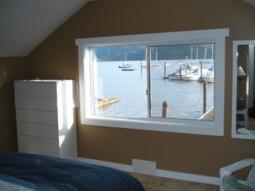 Water view from master bedroom