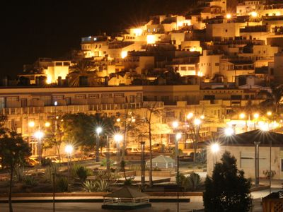 PUERTO DE MOGAN AT NIGHT