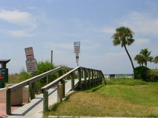 St Pete Beach condo photo - Walkway to the beach is less 400 yards away!