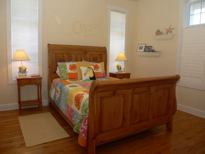 St George Island house rental - Aloha Bedroom