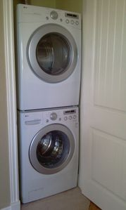 Branson condo rental - LG Washer & Dryer - Front Loading - Full Size